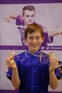 Dimitri - double médaillé de bronze