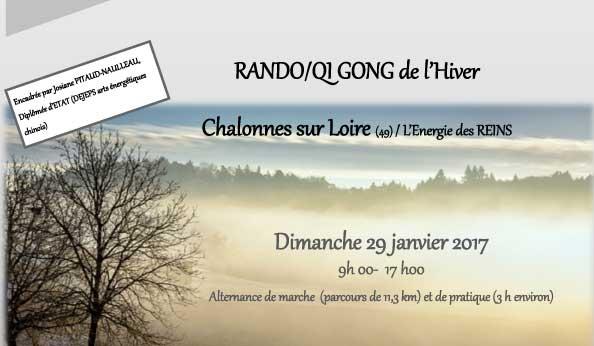 Rando/Qi Gong de l'Hiver