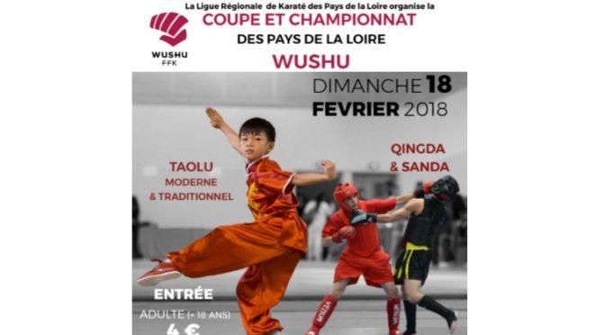 Coupe et Championnat Pays de Loire Wu Shu