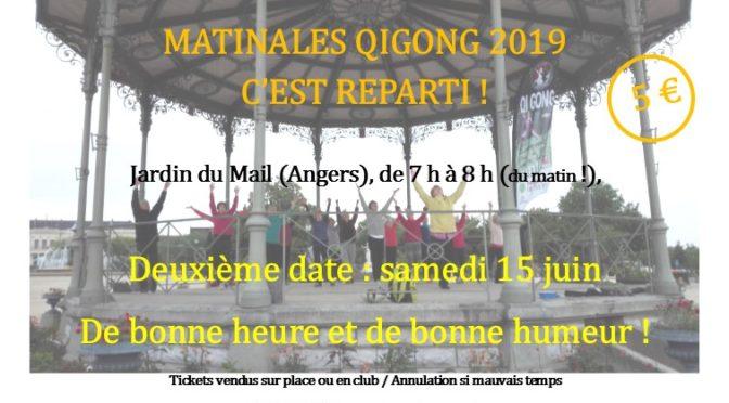 Matinales Qi Gong – juin 2019