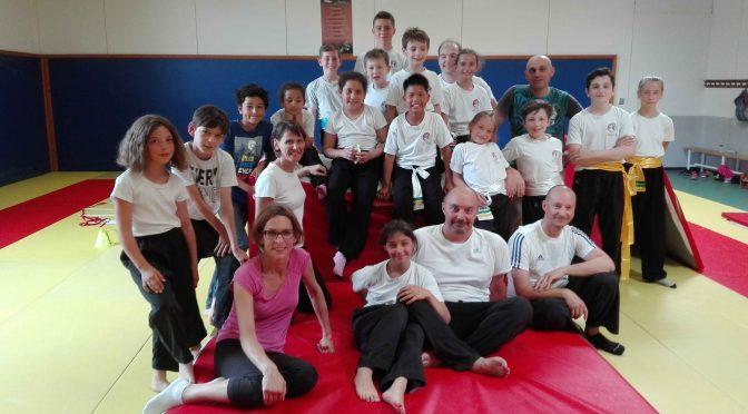 Fin de saison conviviale pour le Kung Fu loisir