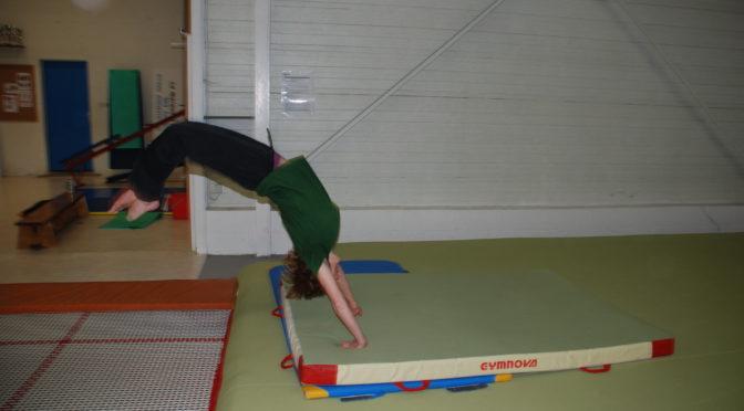 S'améliorer en acrobaties Wu Shu