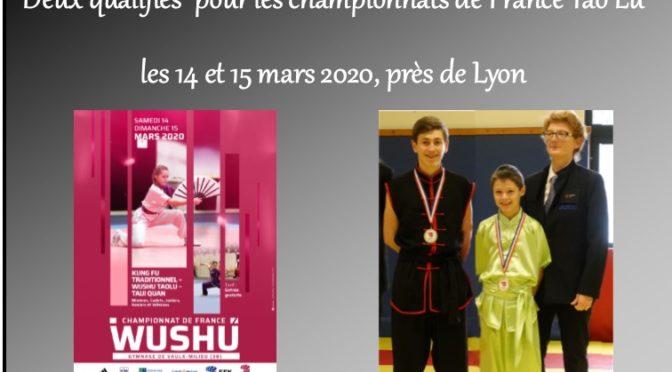championnat de France Wu Shu