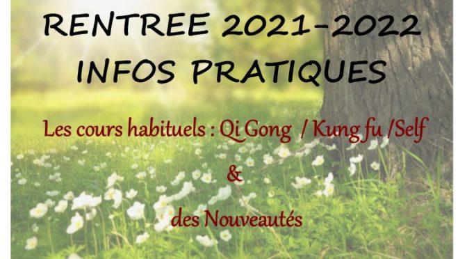 Rentree 2021/2022